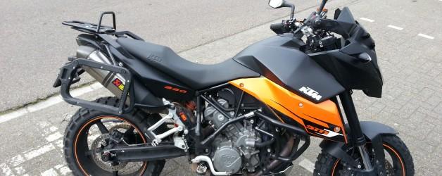 De motor: KTM SM-T 990 voor fun & boodschappen