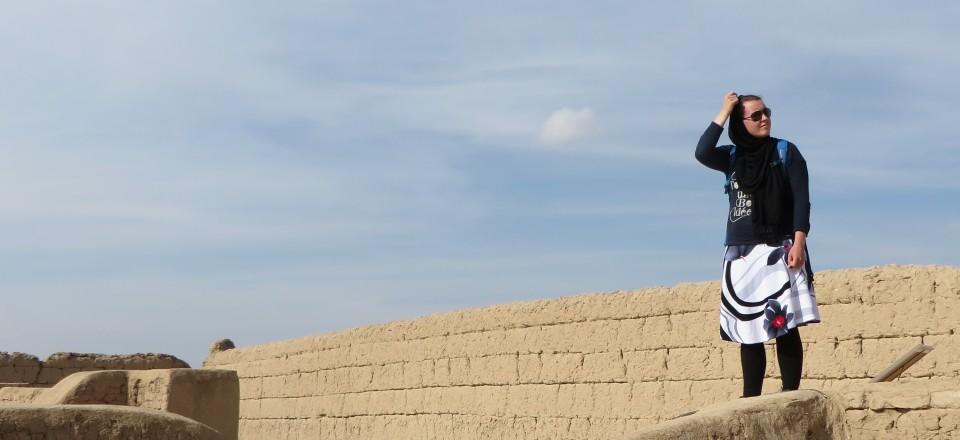 Yazd, de stad van de Zoroastrians, windtorens en zandkleurige gebouwen