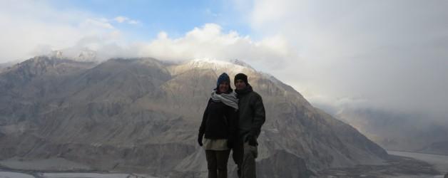 Koud maar indrukwekkend Noord-oost Pakistan