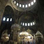 De beroemde kerk van binnen