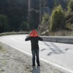 Gevaar op de weg!