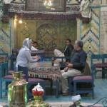 Hossein in theehuis