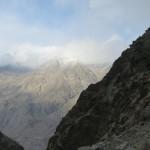 Moskee hoog op de berg