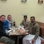 Eten met Sajjad